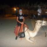 Anita van der Wal in Egypte