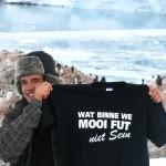 Niels Koornstra op Antartica